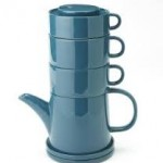 Tea Tower Slate Blue